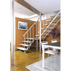 Комбинированная межэтажная лестница ЛЕС-05