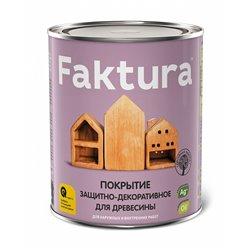 Покрытие защитно-декоративное для древесины Faktura, 0,7 л