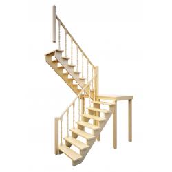 Лестница ЛЕС-62 универсальная (поворот 180)