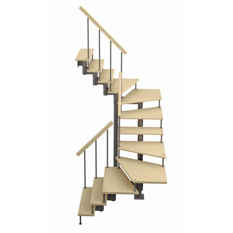 Модульная лестница Спринт (c поворотом на 180 градусов)